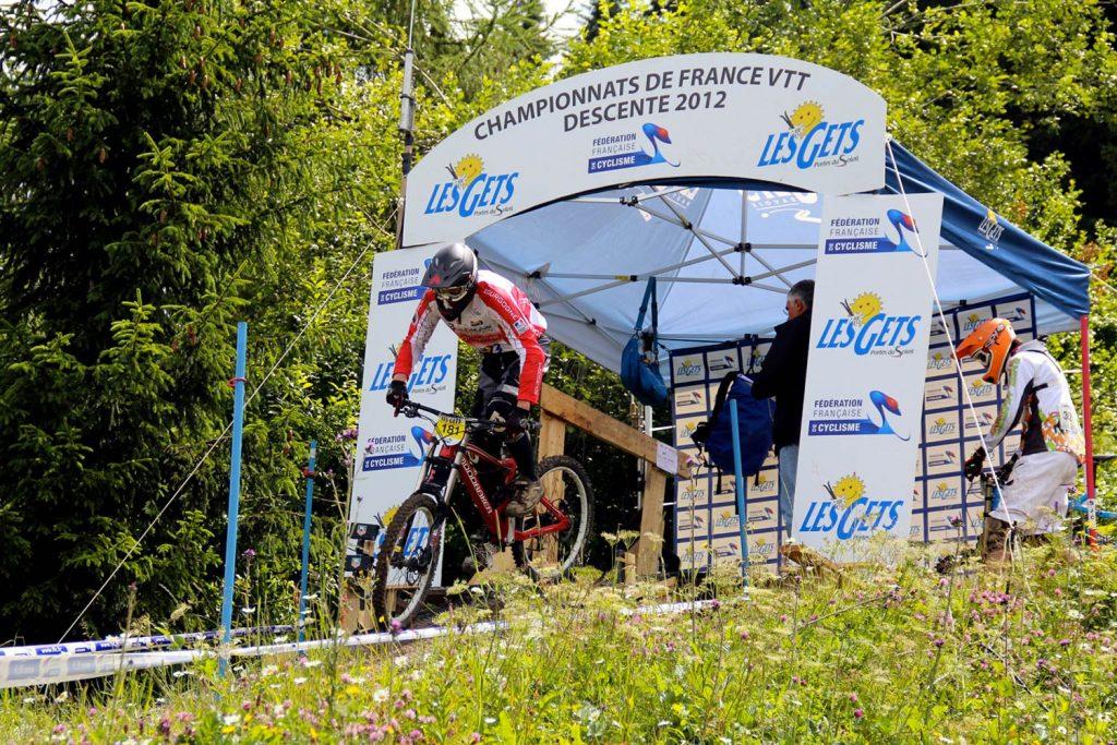 Championnats de France 2012, Les Gets
