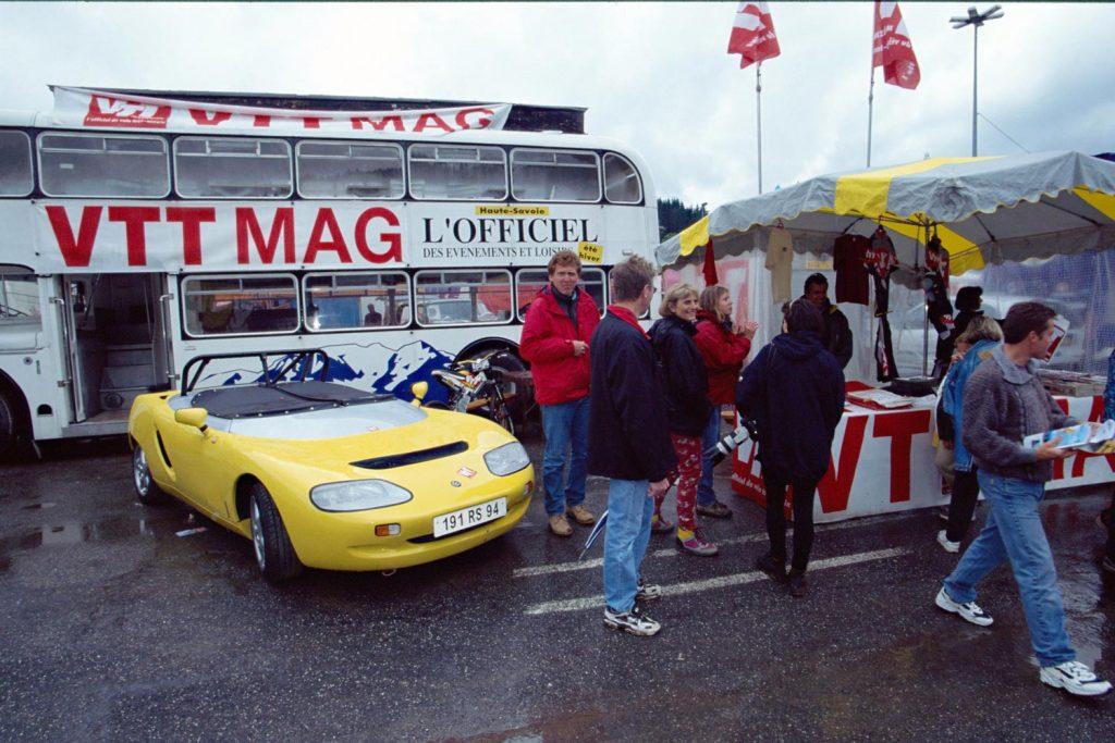 Coupe du Monde VTT 1998, Les Gets